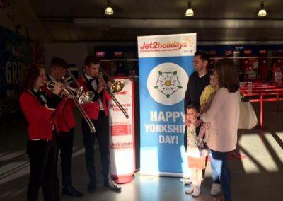 Jet 2 Yorkshire Day