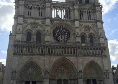 Paris Aug 2016 Notre Dame Frontage