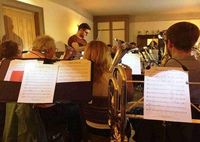 Otley Brass Band Practice Nov 2018